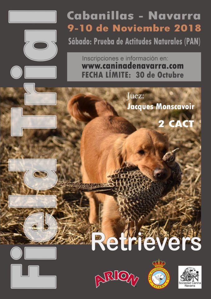 field trial retrievers navarra